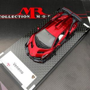 MR 1:64 Lamborghini Veneno Red Simulation Collection Limited Edition Model