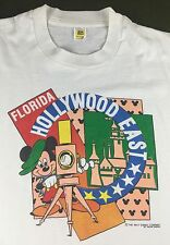 True Vintage 80s Walt Disney World Florida Hollywood East Mickey Mouse T-Shirt