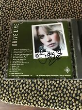 Judie Tzuke - Drive Live -  * Signed * CD Big Moon Records