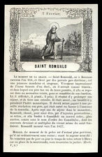 santino incisione1800 S.ROMUALDO AB. DI CAMALDOLI