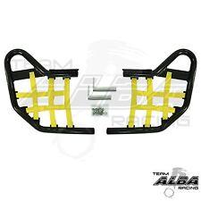 Banshee YFZ 350 YFZ350   Nerf Bars  Alba Racing  Black bar Yellow nets 207 T1 BY
