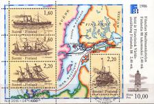 Finland Suomi Mi Block 2 Used  schepen ships Schiffe 0176