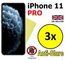 3x HQ MATTE ANTI GLARE SCREEN PROTECTOR COVER GUARD FILM FOR APPLE IPHONE 11 PRO