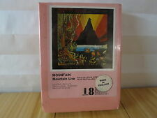 Mountain Live Pink Featuring Leslie West, Felix Pappalardi 8 Track Tape Y8I 9199
