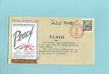 WWII FDC Hawaii Pearl Harbor Attack 68th Anniversary * ALL PAU * Sc 4768