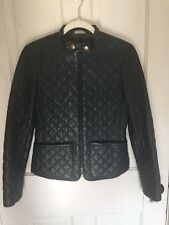 LL Bean Signature Quilted Leather Jacket