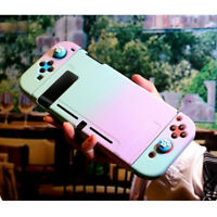 Kawaii Gradient Hard Case Cover for Nintendo Switch Console Jon-Con Snap on Case