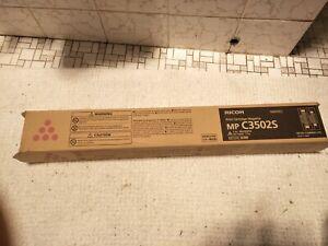Genuine Ricoh MPC3502S toner - Magenta