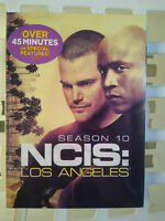 NCIS: Los Angeles: Season 10  (DVD, 2019, 6-Disc) Brand New with Free Shipping
