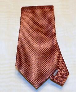DANIEL CREMIEUX [ SIGNATURE COLLECTION ][ 7 FOLD] men's tie 100% Silk  Made  USA