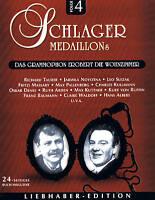 "SCHLAGER MEDAILLONS ""Das Grammophon erobert die Wohnzimmer"" 2CD-Box NEU & OVP"