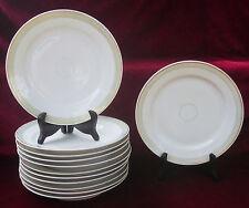 Twelve plates plates porcelain Paris or Limoges @