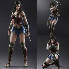 Play Arts DC Movie Wonder Woman 26cm PVC Action Figure Statue Toys NEW IN BOX