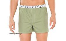Schiesser Herren Slip Shorts Boxershorts blau oder grün Edelweiß Größen 5 6 7 8