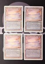4 Underground Sea (#0712) - Revised Land MtG Magic 93/94 Old School Rare 4x x4