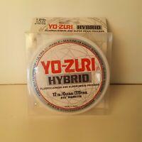 Yo-Zuri Hybrid Clear 275 Yards Fishing Line Fluorocarbon Super Resin Waterproof