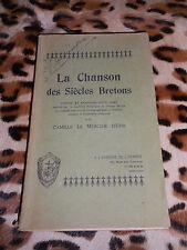 La chanson des siècles bretons - Camille Le Mercier D'Erm