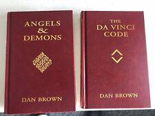 Da Vinci Code, Angels & Demons (faux leather Hardcover box set) by Dan Brown