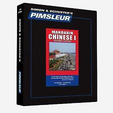 Pimsleur Learn CHINESE MANDARIN Language Level 1 CDs