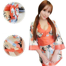 Sexy Kimono Role Play Game Girls Sleepwear Uniform Home Pajamas T