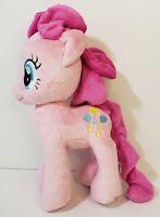 "My Little Pony Pinkie Pie 10"" Pink Plush Stuffed Toy  Balloons Hasbro Cloth Hair"