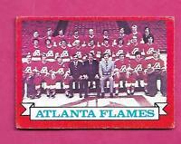 1973-74 OPC # 92 FLAMES TEAM PHOTO EX+  CARD (INV# A9622)