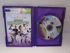 XBOX 360 VIDEO GAME KINECT SPORTS WITH MANUAL