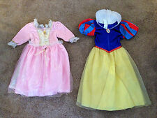 2pc. Girl's Disney Snow White M(7/8) & C.D Fantasy Play Dressup Costume Dresses