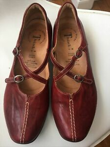 THINK! shoes loafers closed sandals bordeaux 41 footbeed comfort Orthotics