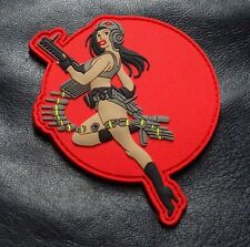 Pacific Rim Movie GIPSY DANGER PIN UP Girl Patch (3-D PVC Rubber Hook)