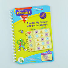 Leap Frog Leap Pad - Phonic Activity - Know Letters - Book Only NO Cartridge