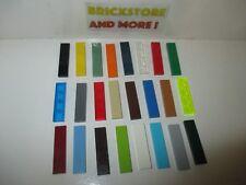 Lego - Tile Plate Plaque Lisse 1x4 2431 - Choose Color & Quantity