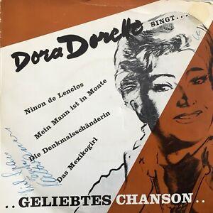 DORA DORETTE singt: ...Geliebtes Chanson (EP Vox-Imago 21240 / Mono)