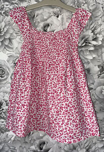 Girls Age 9-10 Years - Summer Tunic Top From Mini Boden
