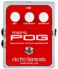Electro Harmonix Micro POG Polyphonic Octave Pedal Cable Strings