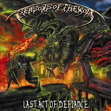 SEASONS OF THE WOLF - LAST ACT OF DEFIANCE   CD NEUF