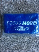 Sweat Bands With Ford - Focus More Logo - Blue/White