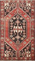 4x6 Vintage Geometric Tribal Area Rug Wool Oriental Hand-knotted Kitchen Carpet