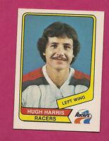 RARE 1976-77 OPC WHA # 39 RACERS HUGH HARRIS NRMT-MT CARD (INV#1963)