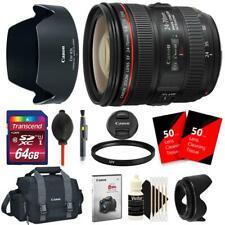 Canon EF 24-70mm f/4L IS USM Standard Zoom Lens for Digital SLR Cameras