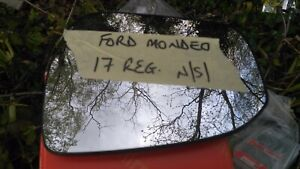 ford mondeo mirror glass passenger side heated