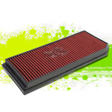 WASHABLE DROP IN PANEL PERFORMANCE AIR FILTER FOR 06-08 GTI/JETTA 2.0 TURBO RED