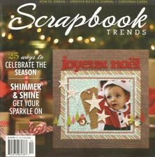 SCRAPBOOK TRENDS MAGAZINE DECEMBER 2011 VOLUME 13 ISSUE 12
