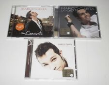 MARCO CARTA -  LOTTO 3 CD - LA FORZA MIA/TI RICONTRERO'/IN CONCERTO cd + dvd -DP
