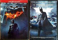 IL CAVALIERE OSCURO (2008) + IL RITORNO (2012)  - 2 DVD EX NOLEGGIO WARNER