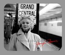 Item#581 Marilyn Monroe NYC Facsimile Autograph Subway Mouse Pad