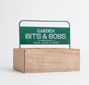 Wooden Bits And Bobs Baskets, Garden Trug / Open Storage Box