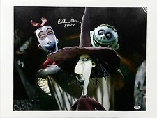 Catherine O'Hara Signed Nightmare Before Christmas 16x20 Canvas Photo PSA/DNA C