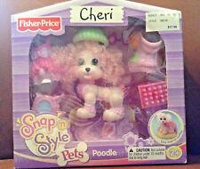 Fisher Price Snap N Style Poodle Cheri - Nib