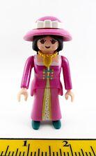 PLAYMOBIL~Custom~New~Princess~Lady~Magenta~Pink~Dollhouse~Hat~Hatband~Necklace